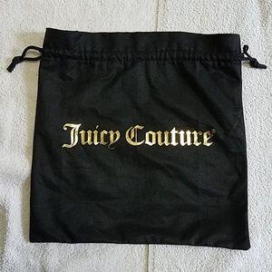 Juicy Couture Black Purse Dust Bag JCBag